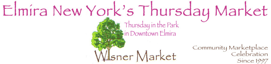 Elmira New York's Downtown - Wisner Market